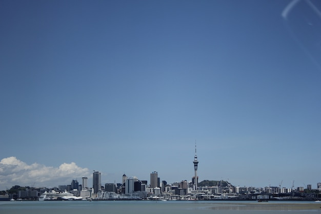 Auckland city view