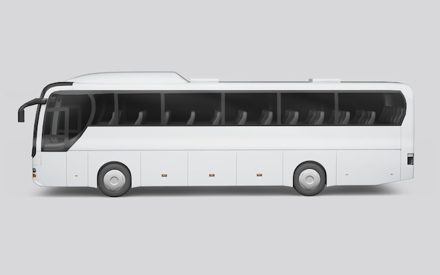 Autobus w starym stylu