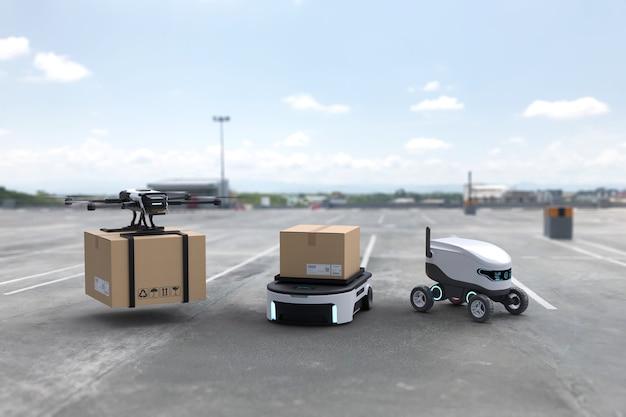 Autonomiczny robot dostawczy