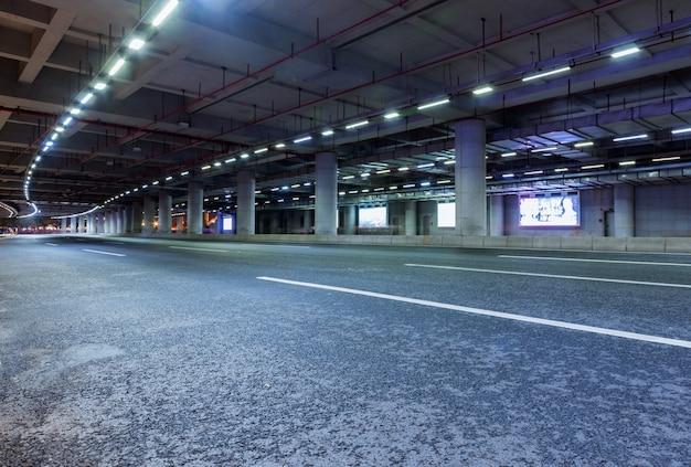 Autostrada i podziemny tunel w guangzhou, chiny