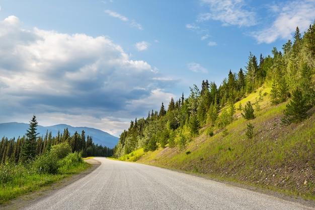 Autostrada na alasce w stanach zjednoczonych