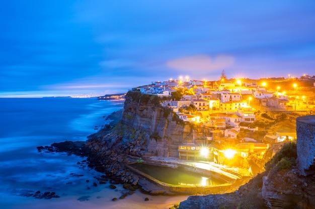Azenhas do mar wieś sintra portugalia