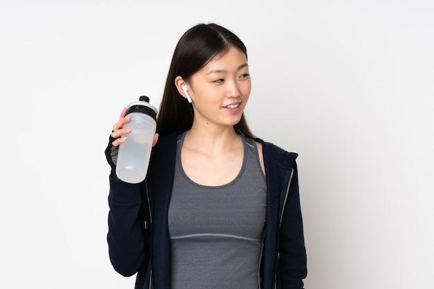Azjatycka kobieta młody sport
