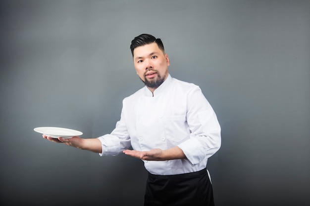 Azjatycki szef kuchni