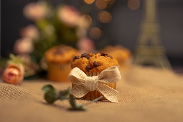 Babeczka ciasto babeczka słodkie