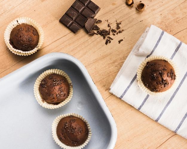 Babeczki czekoladowe