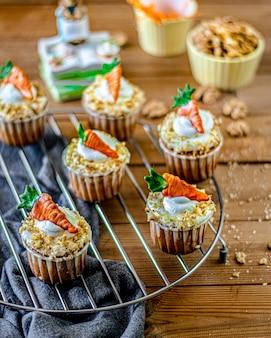 Babeczki marchewkowe na grillu