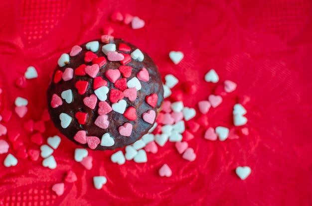 Babeczki z małymi sercami