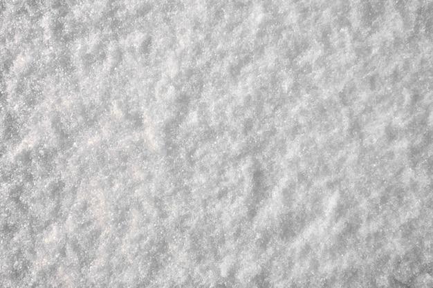 Backround z białą, przejrzystą teksturą śniegu boże narodzenie zima backround