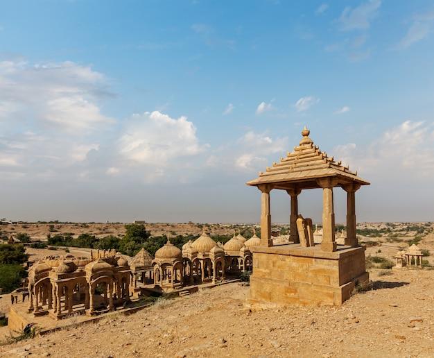Bada bagh, jodhpur, radżastan, indie