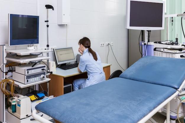 Badanie diagnostyczne endoskopisty