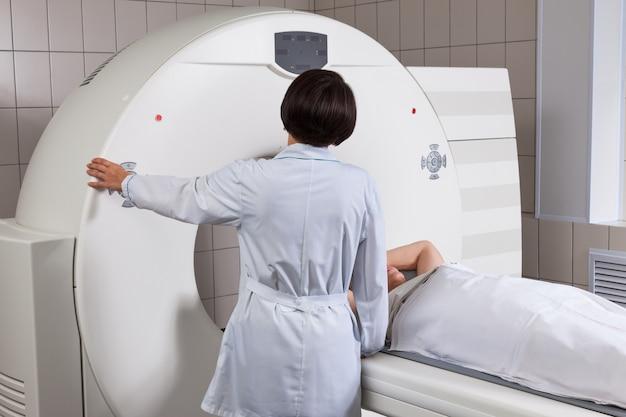Badanie tomografii komputerowej