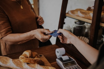 Baker Cafe Ciasto Mąka Ciasto Chleb Knead
