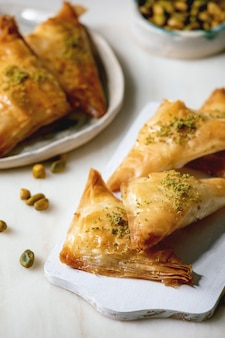 Baklava turecka deserowa