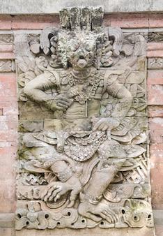 Bali starożytnej ściany