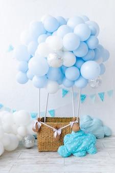 Balon dla dzieci, świąteczna lokacja dla dzieci z balonów