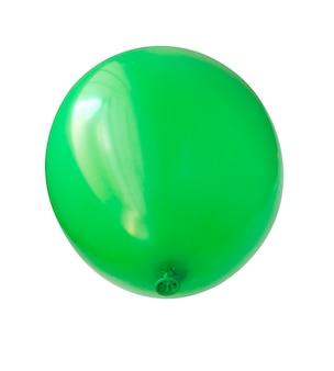 Balon dmuchany, zdjęcie na białym tle