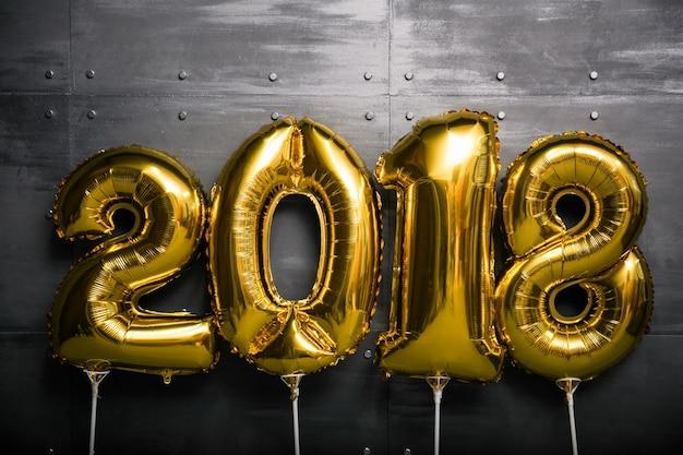 Balony nowego roku