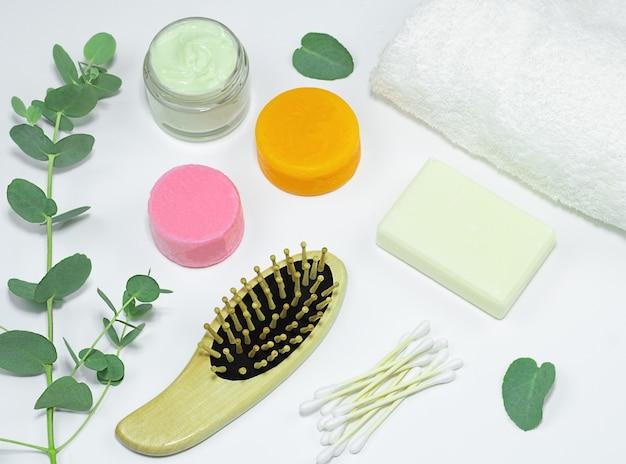 Bambusowa szczoteczka do zębów ekologiczny stały szampon i odżywka mydło bawełniany wacik szczotka do włosów maska do włosów