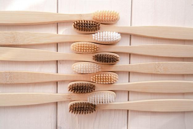 Bambusowe szczoteczki do zębów zero waste