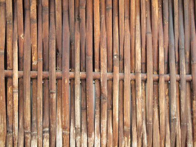 Bambusowy płot