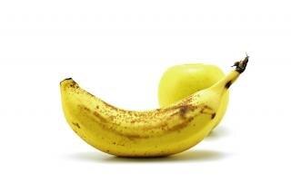 Banan i jabłko