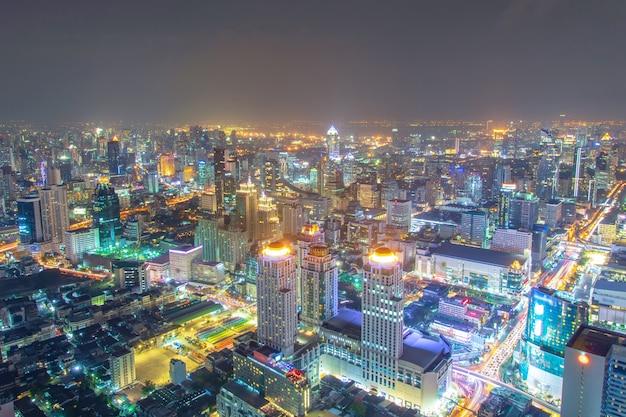 Bangkok miasto nocą