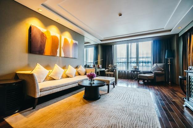 Bangkok, tajlandia - 12 sierpnia 2016: piękny luksusowy pokój