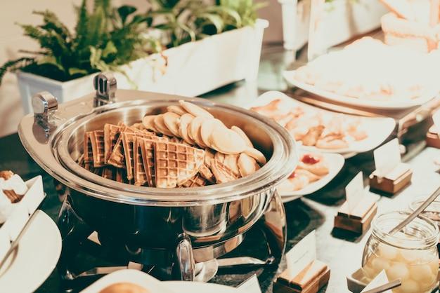 Bankiet smaczne wyżywienie impreza przekąska