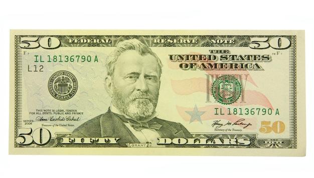 Banknot 50 dolarów