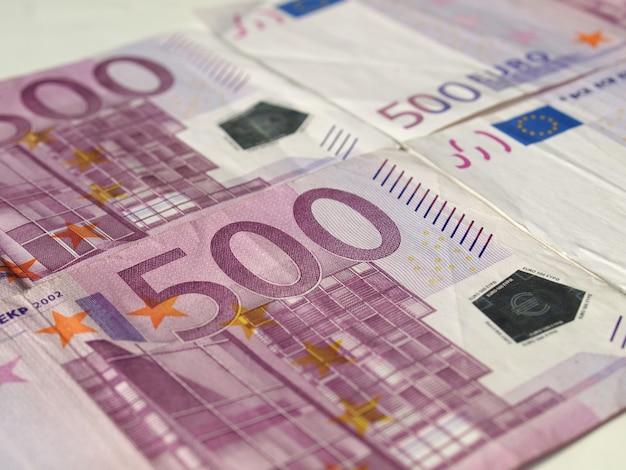 Banknot 500 euro, unia europejska