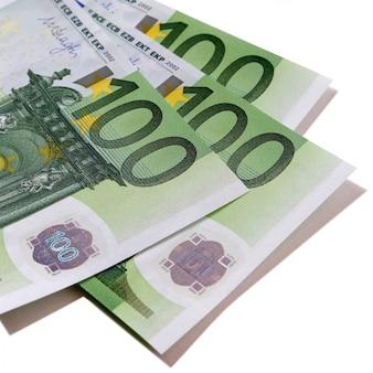 Banknoty 100 euro