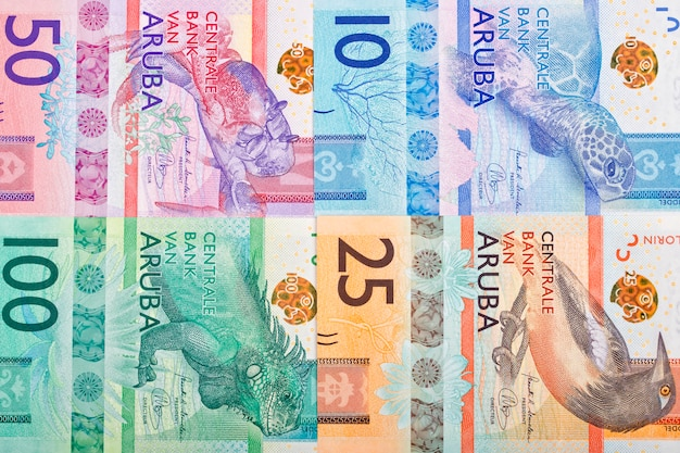 Banknoty aruban florin
