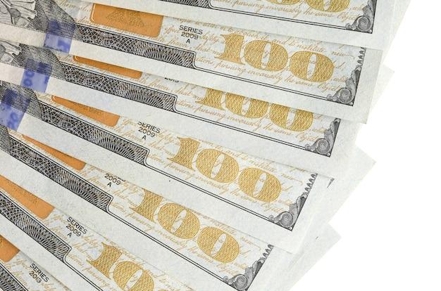 Banknoty dolarowe. amerykańskie pieniądze