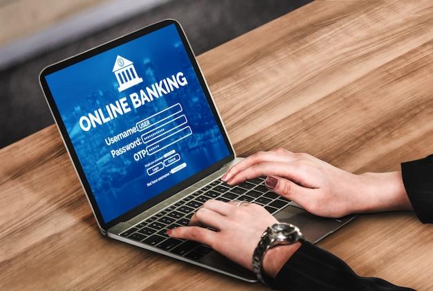Bankowość internetowa dla technologii cyfrowych pieniędzy