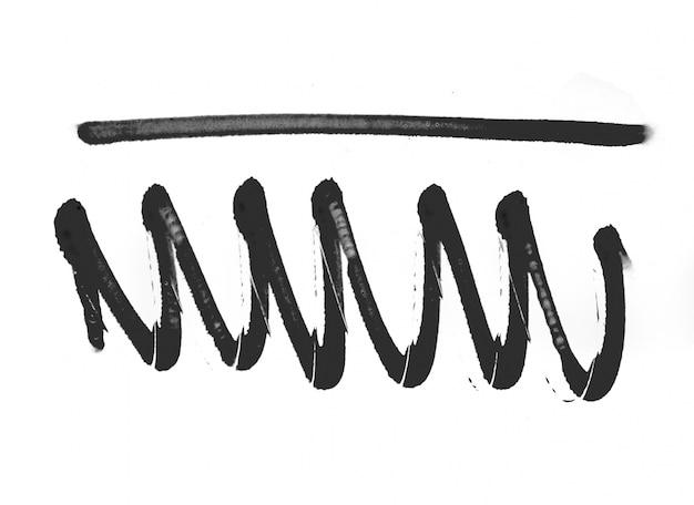 Banner elementów kształt streszczenie teksturowanej