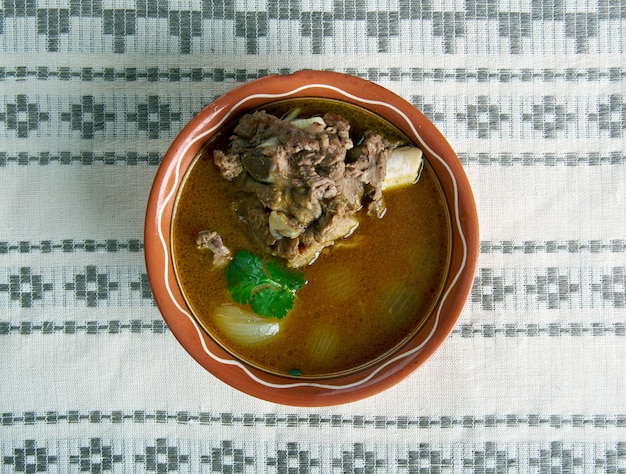 Baranina paya tradycyjne południowoazjatyckie jedzenie