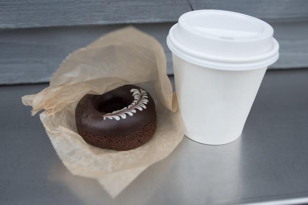 Bardzo smaczna parzona czekolada z dobrym zapachem gorącej kawy