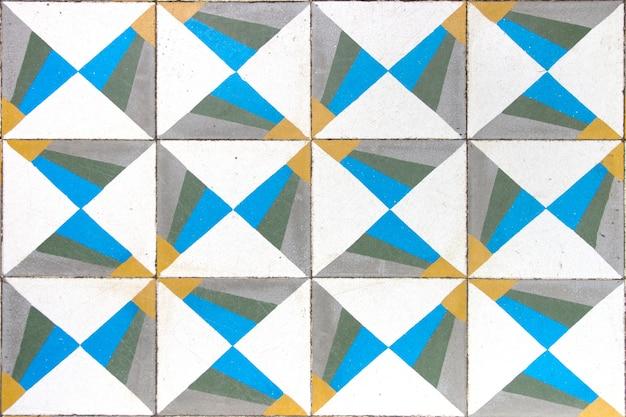 Barwna mozaika kafelki
