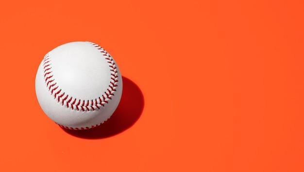 Baseball z miejsca na kopię
