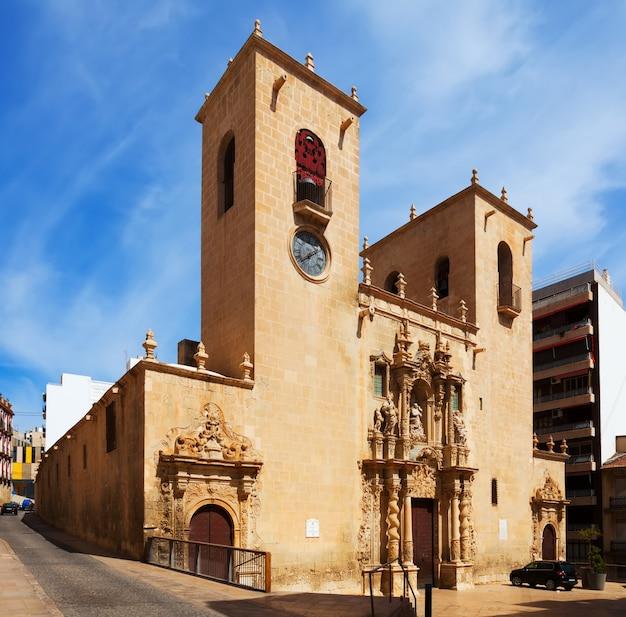 Basilica de santa maria. alicante