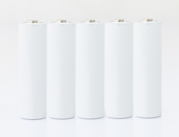 Baterie aa białe