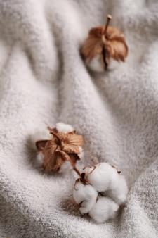 Bawełniane kwiaty