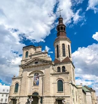 Bazylika katedralna notre-dame de quebec w kanadzie