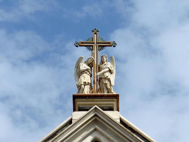 Bazylika santa croce, florencja, włochy