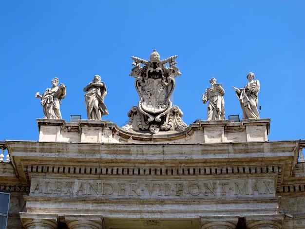 Bazylika świętego piotra, watykan, rzym, włochy