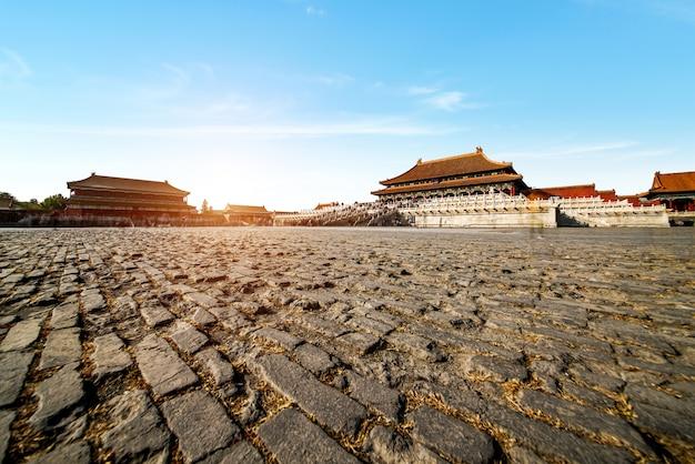 Beijing, china forbidden city
