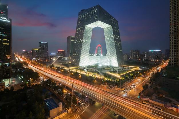 Beijing city w chinach, słynny punkt orientacyjny