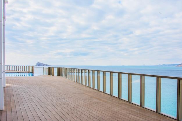 Benidorm, hiszpania levante beach