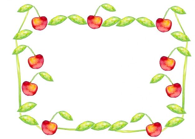 Berry szablonu wegetariańskie pozdrowienia naturalne